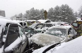After 75 Car Crash Maine Mulls End Of Seat Belt Law