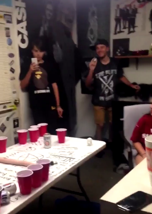 Awesome A Video Allegedly Showing Infamous Texas Affluenza Teen Ethan Couch Playing  Beer Pong In Violation Of His Probation. (Twitter)