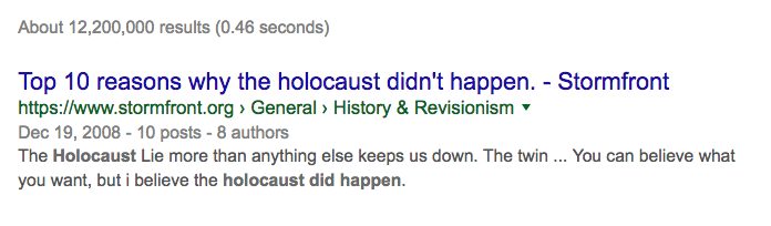 reasons for the holocaust