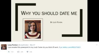the secret to modern dating powerpoint apparently twitter