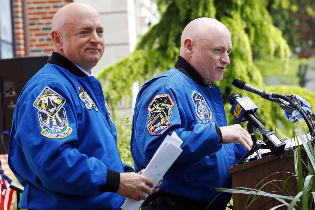 Outer Space Made Identical Twin Astronauts Scott Kelly ...