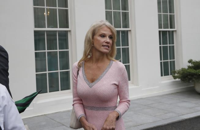 Kellyanne Conway Tells CNN That She Is a Victim of Sexual Assault