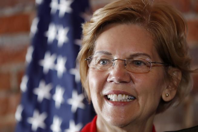 Elizabeth Warren says it's time to break up Big Tech