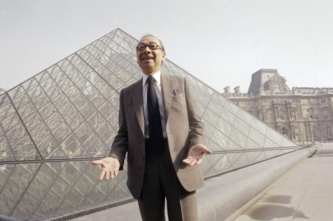 I.M. Pei, the architect behind the Louvre pyramid, dies aged 102