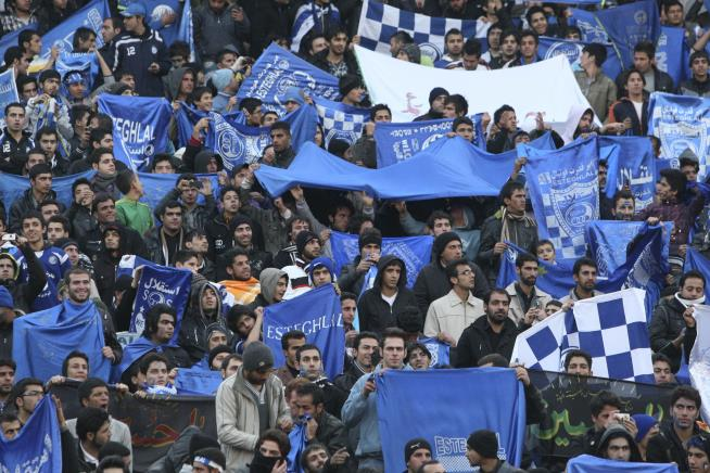 Iranian female soccer fan 'Blue Girl' dies after setting herself on fire class=