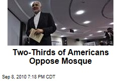 Two-Thirds of Americans Oppose Mosque