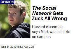 The Social Network Gets Zuck All Wrong