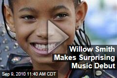 Willow Smith Makes Surprising Music Debut