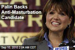 Palin Backs Tea Party Masturbation Foe for Senate