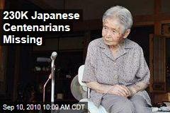 230K Japanese Centenarians Missing