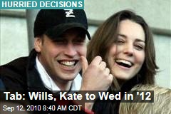 Tab: Wills, Kate Set Date for '12