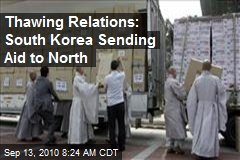 Thawing Relations: South Korea Sending Aid to North