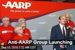 Anti-AARP Group Launching