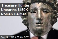 Treasure Hunter Unearths $450K Roman Helmet