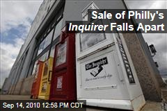 Sale of Philly's Inquirer Falls Apart