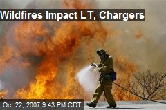 Wildfires Impact LT, Chargers