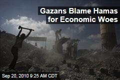 Gazans Blame Both Hamas and Israel for Unemployment
