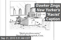Gawker Zings New Yorker's 'Racist' Caption