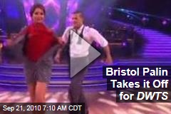 Bristol Palin Takes it Off for DWTS