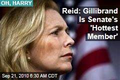 Reid: Gillibrand Is Senate's 'Hottest Member'