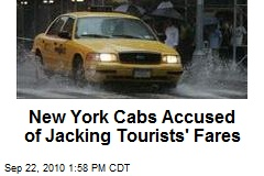 New York Cabs Accused of Jacking Tourists' Fares