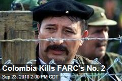 FARC No. 2 Jorge Briceno Killed by Colombian Troops