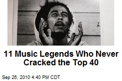 11 Music Legends Who Never Cracked the Top 40