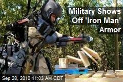Military Shows Off 'Iron Man' Armor