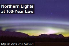 Northern Lights at 100-Year Low