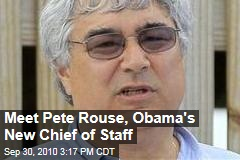 Meet Pete Rouse, Obama's New Chief of Staff