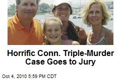 Horrific Conn. Triple-Murder Case Goes to Jury