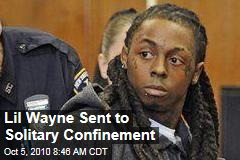 Lil Wayne Sent to Solitary Confinement in Prison for Music Contraband