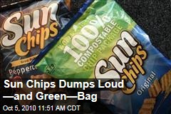 Sun Chips Dumps Loud —and Green—Bag
