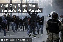 Anti-Gay Riots Mar Serbia's Pride Parade