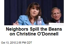 O'Donnell's Neighbors: She Never Said Anything Nuts