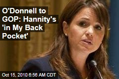 Christine O'Donnell Warns GOP Bosses: Sean Hannity is 'In My Back Pocket'