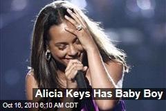 Alicia Keys Has Baby Boy