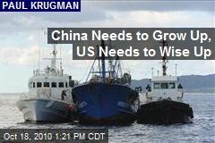 China Needs to Grow Up, US Needs to Wise Up