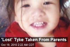 'Lost' Tyke Taken From Parents