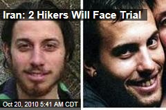 Iran: 2 Hikers Will Face Trial