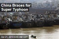 China Braces for Super Typhoon