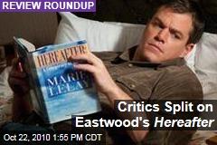Critics Split on Eastwood's Hereafter