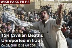 WikiLeaks: 15K Unreported Civilian Deaths in Iraq