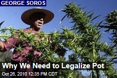 Why We Need to Legalize Pot