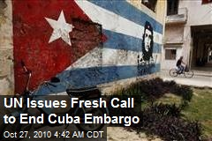 UN Issues Fresh Call to End Cuba Embargo