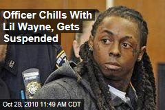 Lil Wayne in Prison: Officer Chills With Rapper, Gets Suspended