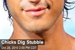 Chicks Dig Stubble