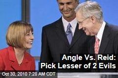 Angle Vs. Reid: Pick Lesser of 2 Evils