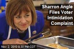 Sharron Angle Files Voter Intimidation Complaint