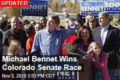 Michael Bennet Wins Colorado Senate Race
